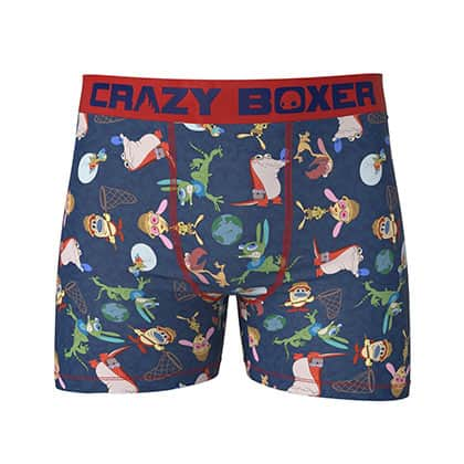 Ren And Stimpy Men's Stretch Boxer Briefs