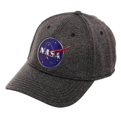 NASA Logo Men's Grey Hat