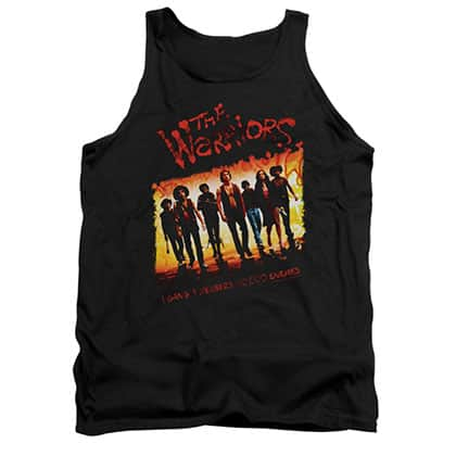 The Warriors One Gang Black Tank Top
