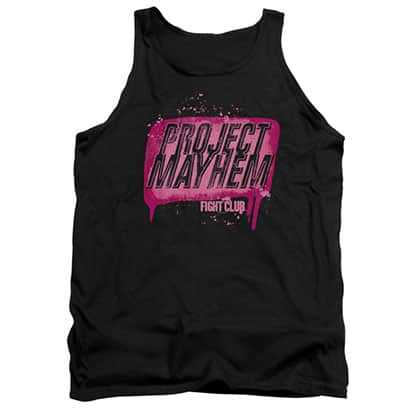 Fight Club Project Mayhem Black Tank Top