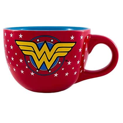 Wonder Woman Superhero Soup Mug